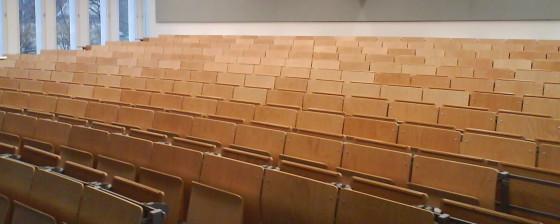 Hörsaal der Freien Universität Berlin