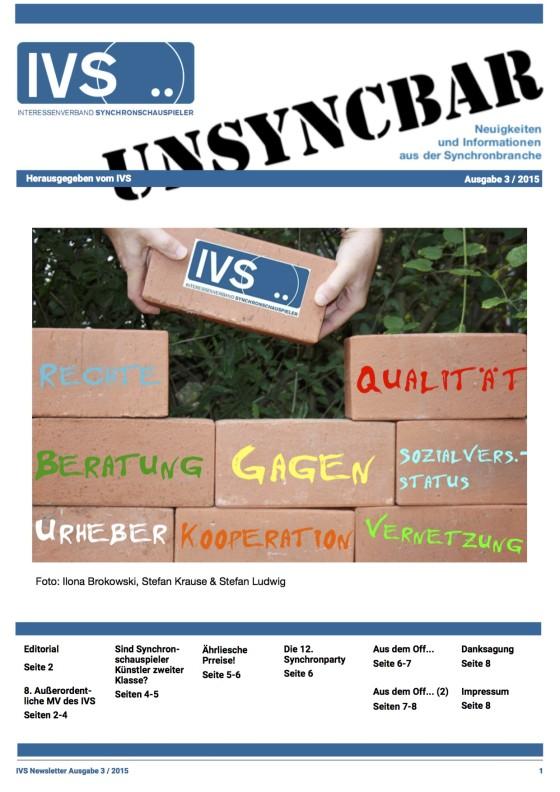 Unsyncbar – Ausgabe 3 / 2015