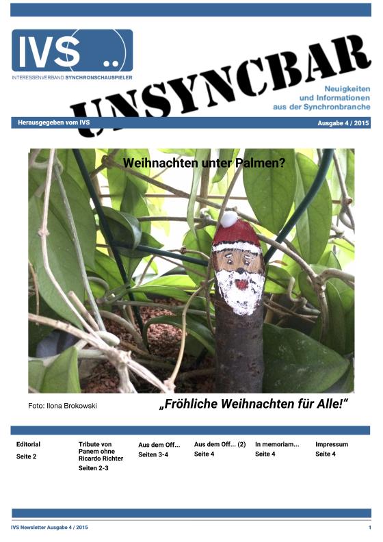 Unsyncbar – Ausgabe 4 / 2015