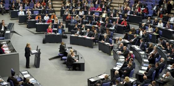 Blick in den Plenarsaal / Foto: Marc-Steffen Unger