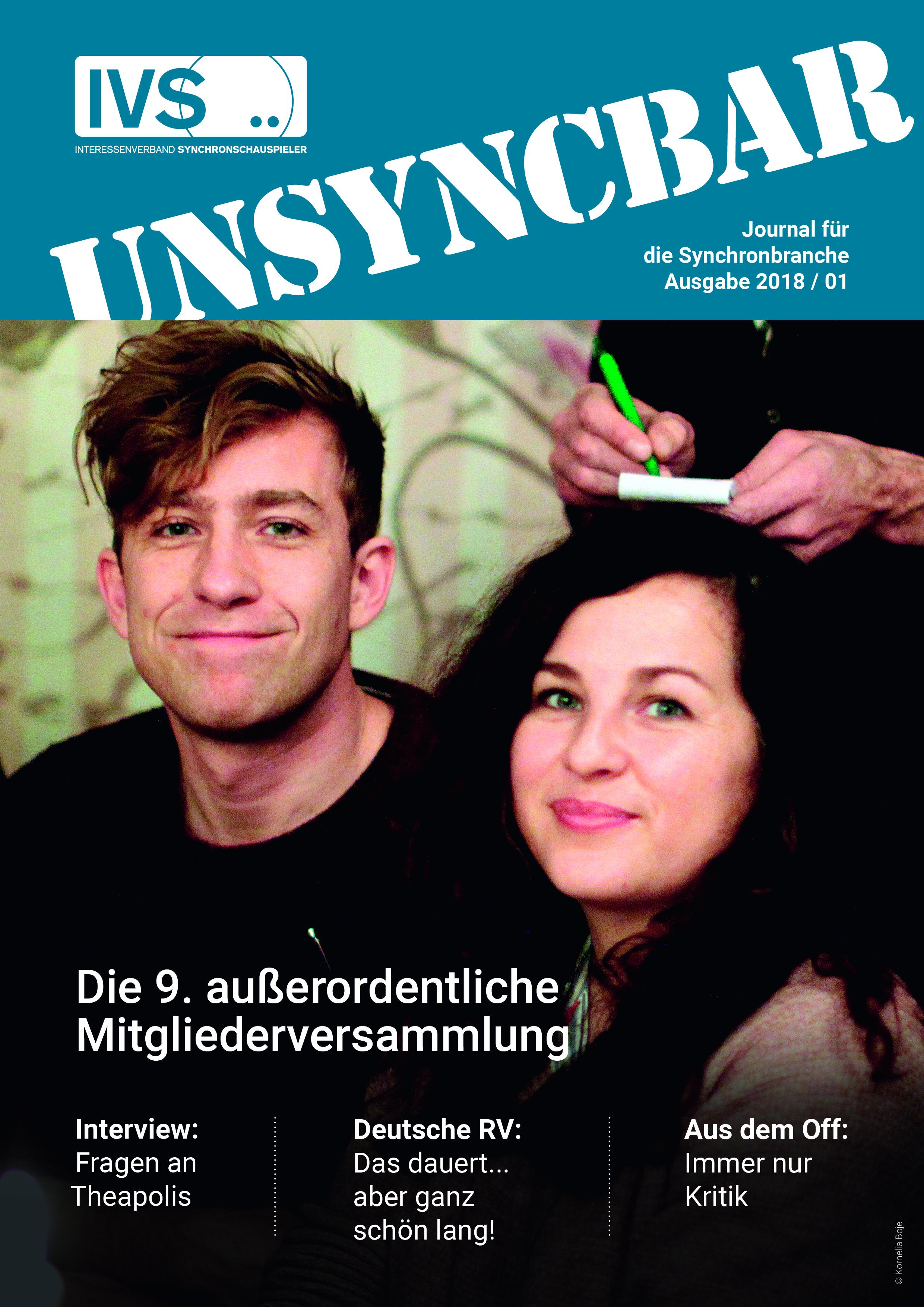 Unsyncbar – Ausgabe 2018 / 01